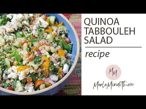 Quinoa Tabbouleh Salad Recipe