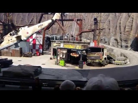 Stuntshow Filmpark Babelsberg 2016