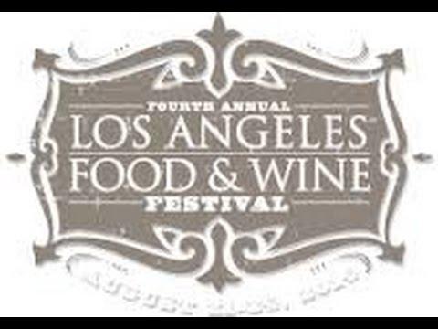 www.FoodJournalMagazine.com   coverage of 2014 Los Angeles Food & Wine Festival