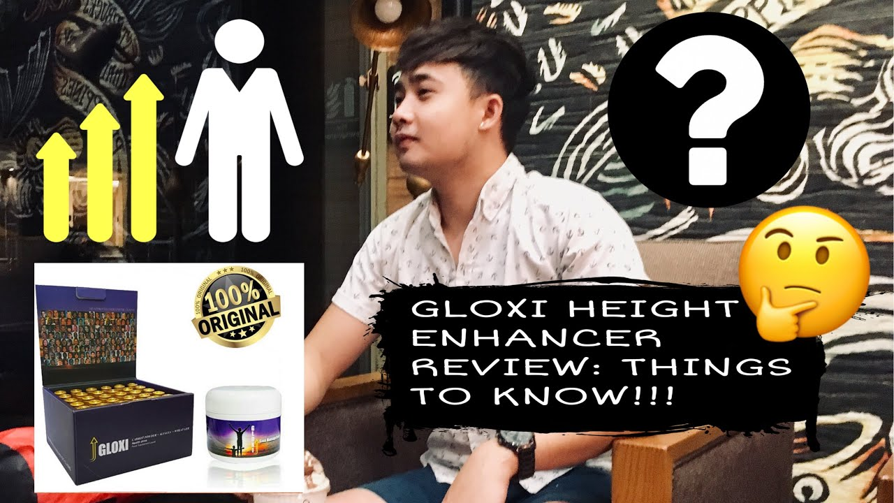 Gloxi Height Enhancer Q & A: Legit or Scam (Answered