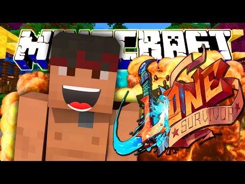 L'Unico Sopravvissuto! | La Guerra in Minecraft: Lone Survivor Ep.1