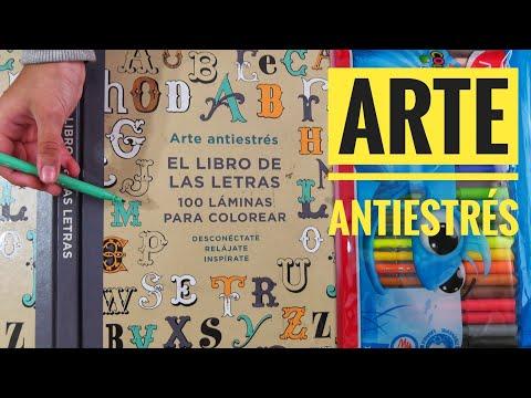 El Libro De Las Letras Arte Antiestrés Youtube