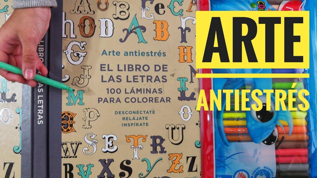 El Libro De Las Letras Arte Antiestrés