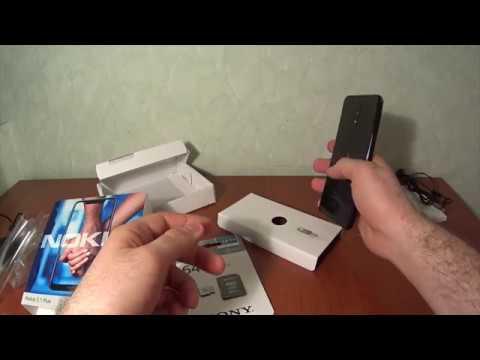 Распаковка Nokia 5 1 Plus