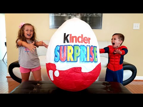Big Kinder Egg Surprise Opening!