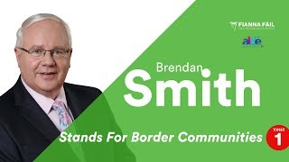 Brendan Smith Stands For Border Communities