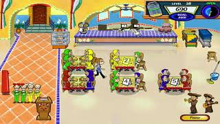 Diner Dash 2 - Restaurant Rescue Walkthrough - Level #28 - Margarita's Cantina - Slower Shift