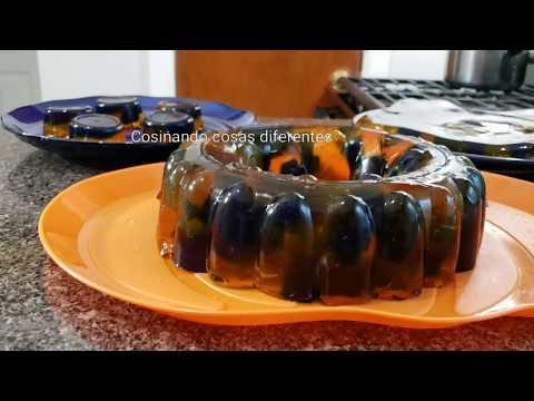 ¿como-haser-deliciosa-gelatina-para-halloween-cosinando-cosas-diferentes
