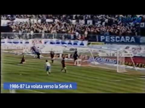 1986 - 87 Il Pescara di Galeone vola in Serie A