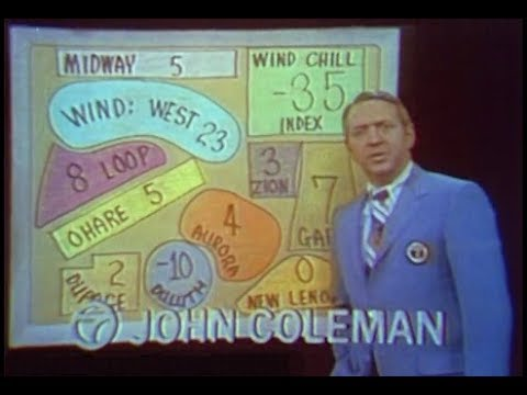 WLS Channel 7  FlynnDaly Eyewitness  at 10pm Excerpt, 1971
