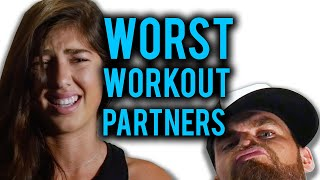 Worst Workout Partners You'll Find at the Gym
