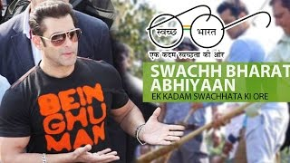 Salman Khan Becomes Face Of BMC's SWACHH BHARAT MISSION