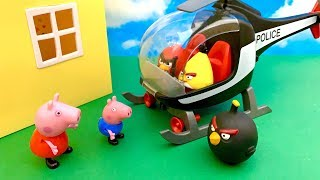 Wściekłe Ptaki i Świnka Peppa po Polsku  Bajka dla dzieci