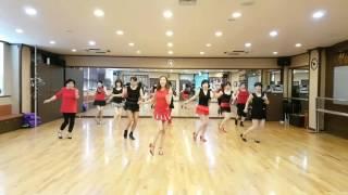 Gambar cover BURNING LOVE Line Dance (beginner east coast swing)