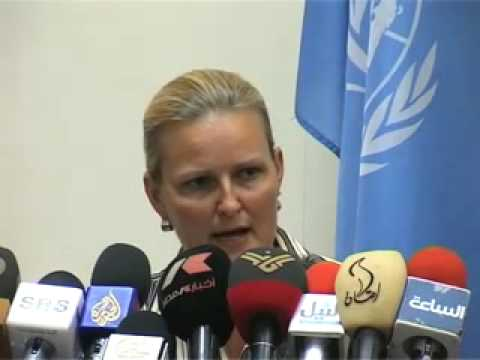 UNMIS Press Conference - Southern Sudan Humanitarian Situation