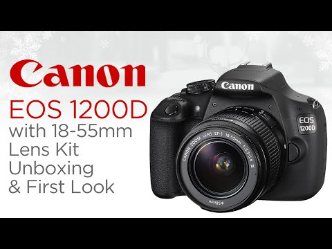 Canon EOS 1200D with 18-55mm Lens Kit Unboxing & First Look!