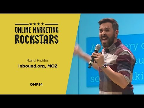 Rand Fishkin, CEO & Co-Founder, SEOmoz - Online Marketing Rockstars 2014 | OMR14