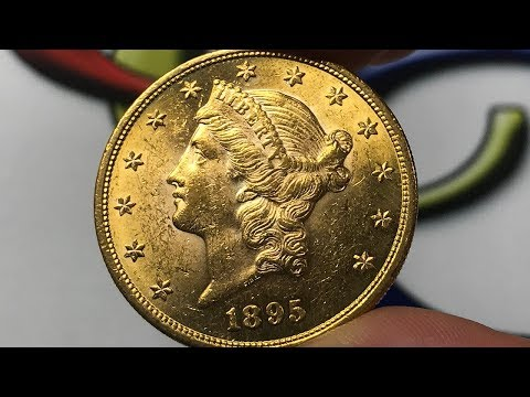 1895 U.S. 20 Dollar Gold Coin • Values, Information, Mintage, History, And More