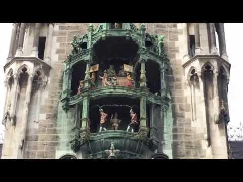 Carillon Clock Tower Town Hall Monaco of Baviera