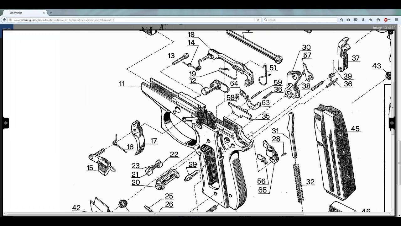 FirearmsGuide.com - ONLINE Gun Schematics Library with over 7,000 ...