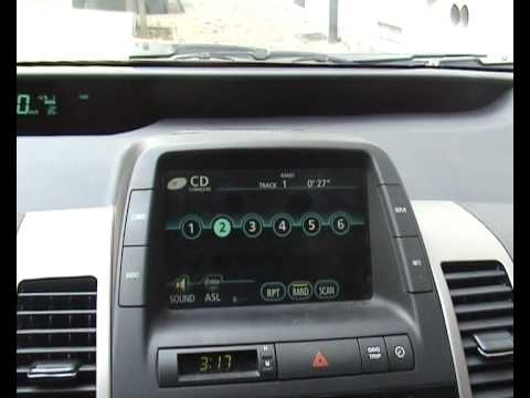 iPod integration in a Toyota Prius