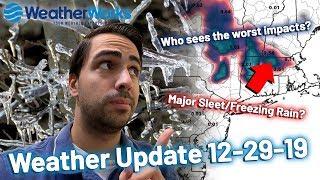 Sleet and Ice to Impact New England (Northeast US Weather)