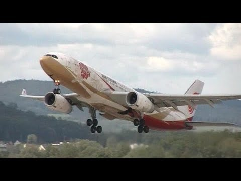 Plane Spotting At (ZRH) Zurich Airport Part 1 From 18Th To 22/08/2017