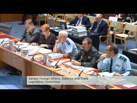 Scott Ludlam -  F 35's - Foreign Affairs Defence & Trade Committee