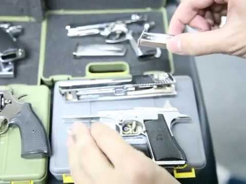 1:2 Model guns M1911, M92, DE by crw-airsoft.com