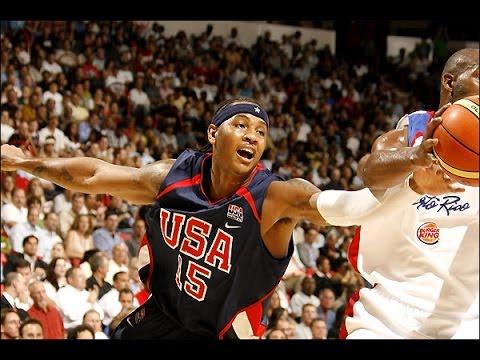 Puerto Rico @ USA 2006 FIBA World Basketball Championship Exhibition Game FULL GAME English