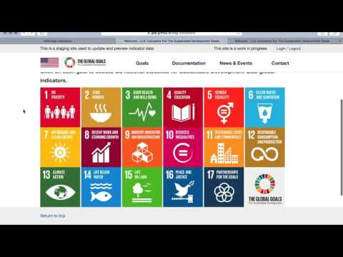 Train Agencies for the Sustainable Development Goals Reporting Platform Webinar