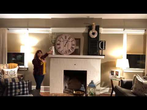Fireplace Restyle in 15 mins