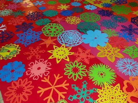 36 DIY Paper Kirigami Flowers Tutorial || 36 DIY Craft Ideas || Art Of Learning ||