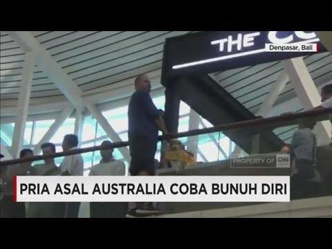Depresi, Bule Australia Coba Bunuh Diri di Bandara Bali