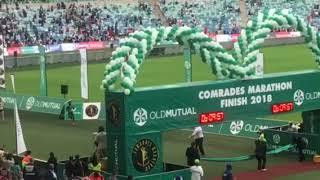 Comrade Marathon Female winner 2018