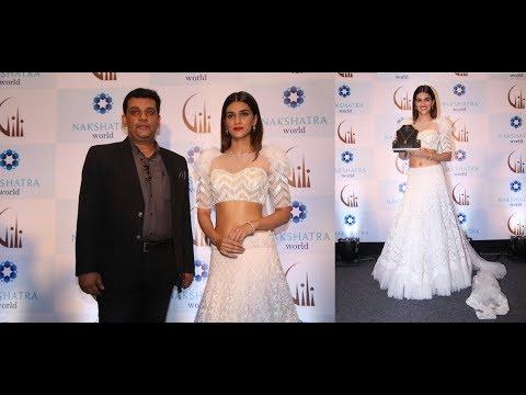 Kriti Sanon is New Brand Ambassador of Gili Diamond Jewellery