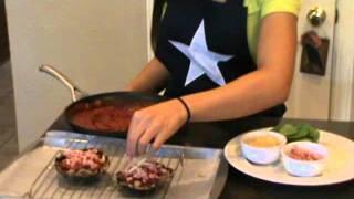 Casey's Kitchen Episode #9 Gluten Free Portobello Pizza Recipe