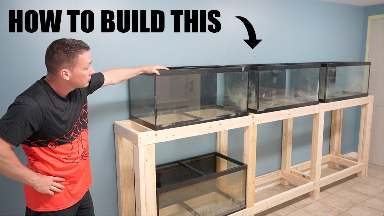 DIY FISH TANK RACK for the aquarium gallery