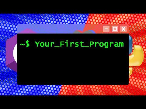 Code Your First Program! (C# vs Python) thumbnail