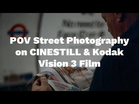 POV Street Photography with Cinestill and Kodak Vision 35mm film