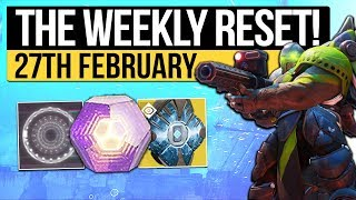 Destiny 2 | WEEKLY RESET! - February Update, Faction Winner, Nightfall & New Rewards (27th February)
