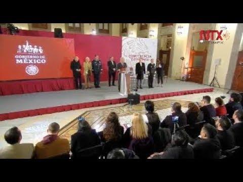 Conferencia de prensa de AMLO, 10 de enero