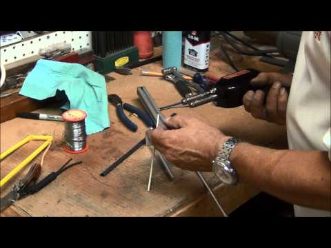 J Pole antenna for 70cm part 3 by N6TWW - YouTube