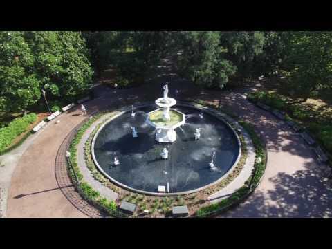 Forsyth Park Fly Through