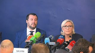 Salvini und Le Pen: Breitseite gegen EU