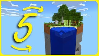 Minecraft PE - TOP 5 SKYBLOCK Themed Maps with Download - iOS & Android MCPE 1.1.4 / 1.1