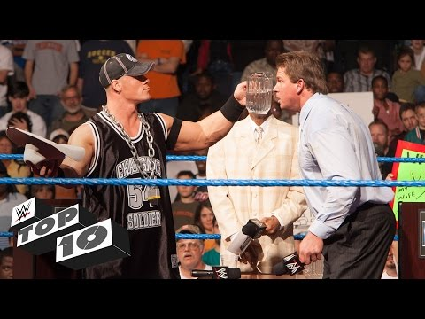 Thumbnail: Superstars Getting Soaked - WWE Top 10
