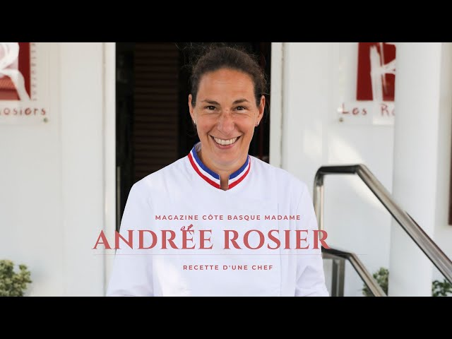 Recette exclusive d'Andrée Rosier !