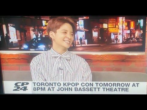 【CP24】Kpop artist Amber interview ❪中英字幕❫