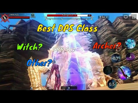 Darkness Rises Best Class in Damage Test - Is it the Witch, Archer or Other!?